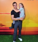 Antonio Sabato JR Melissa at The Lion King 3d Premieres