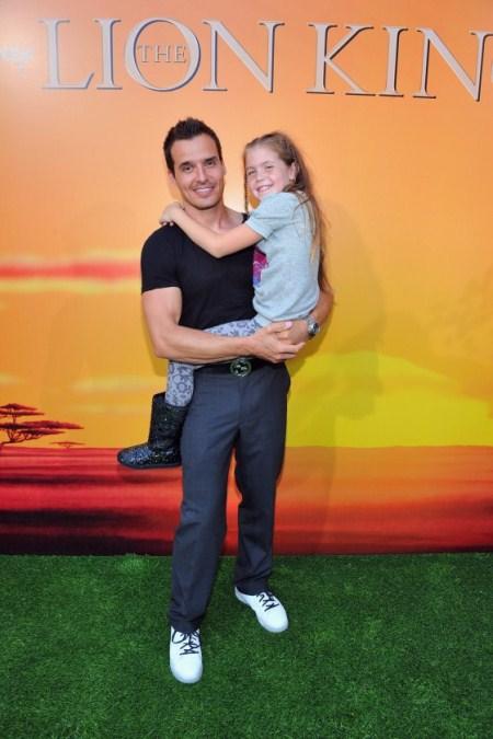 Antonio Sabato JR Melissa at The Lion King 3d Premieres
