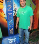 Adam Sandler at The Lion King 3d Premieres