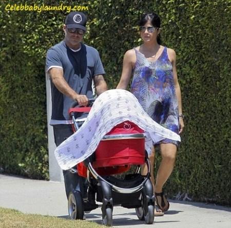 Selma Blair and Jason Bleick With Newborn Baby Arthur