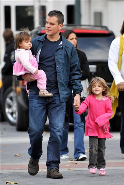 No More Children For Matt Damon