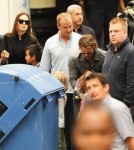 Angelina Jolie and Brad Pitt Rent a Whole Train