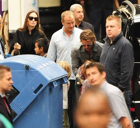 Brad Pitt and Angelina Jolie Rent a Whole Train For Family