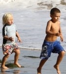 Gwen Stefani and Gavin Rossdale With Sons Kingston and Zuma