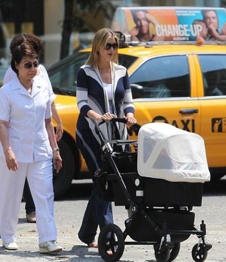 Ivanka trump takes a walk with daughter arabella