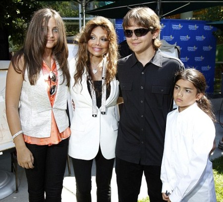 Michael Jackson's Children Donate Art to Children's Hospital