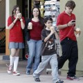Michael Jackson's children Prince, Paris , and little Blanket Jackson