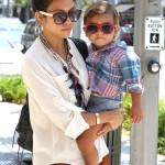 Kourtney Kardashian Loves Styling Mason