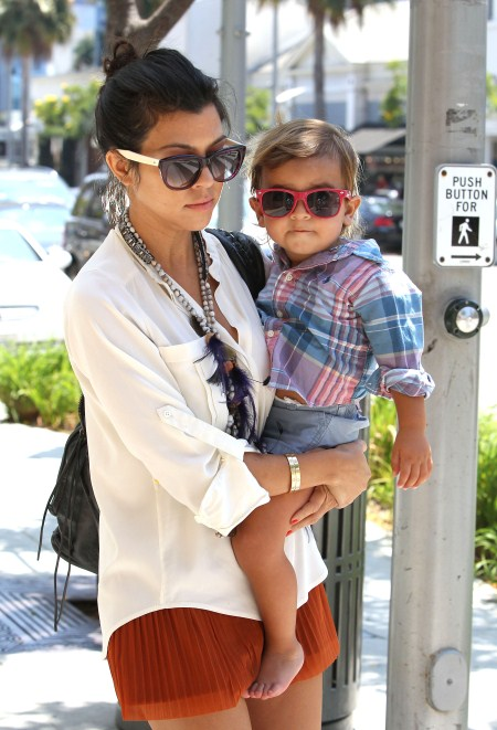 Kourtney Kardashian Loves Styling Mason