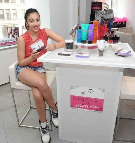 Madonna's Daughter Lourdes Leon Debuts Makeup Line
