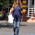 Rebecca Gayheart Shows Off Her Baby Bump