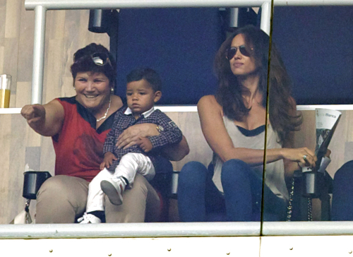Cristiano Ronaldo's Family Support Him And His Team