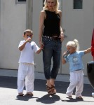 Gwen Stefani Spends Time With Her Fave Lil' Men