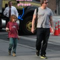 Matthew Broderick Strolls Home With Son From School