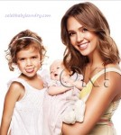 Ok Magazine Debut of Jessica Alba's Daughter Haven Garner
