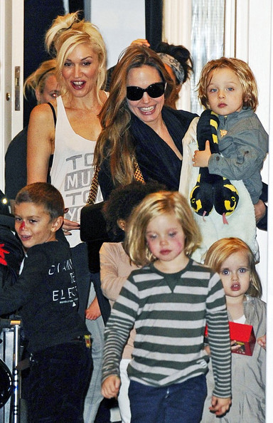Jolie-Pitt and Stefani-Rossdale Children Have A Playdate