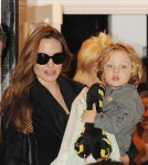 Angelina Jolie takes her children for a playdate with Gwen Stefani's boys after visiting Gwen's home in London