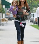 Alyson Hannigan and her daughter Satyana Marie Denisof