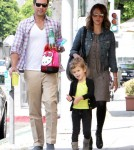 Jessica Alba And Family At A Birthday Party In Beverly Hills