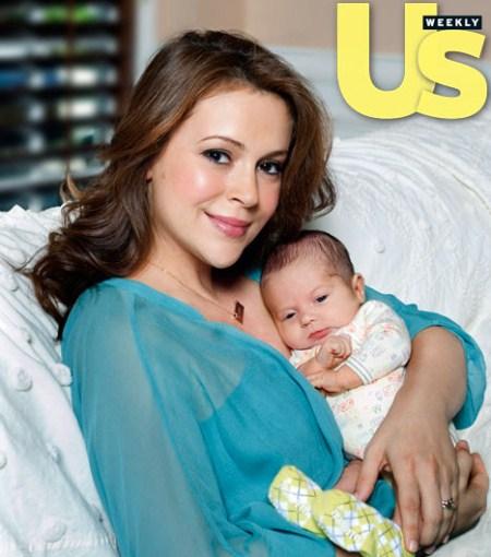 Meet Alyssa Milano's Baby Son Milo Thomas