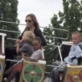 Angelina Jolie and Kids at Legoland in Windsor, UK - Sep 20