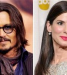 Sandra Bullock and Johnny Depp
