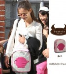 Katie Holmes Carries Suri Cruise's Beatrix Backpack