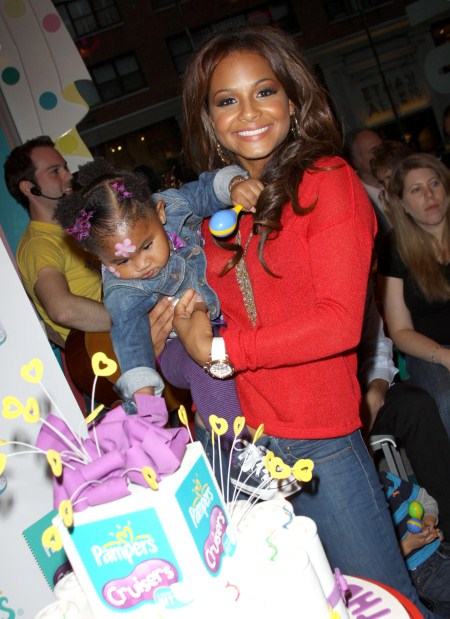 Christina Milian Celebrates New Pampers Cruisers With Violet
