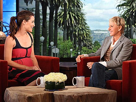Jennifer Garner and On the Ellen Show