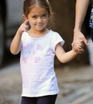 Salma Hayek enjoyed a stroll with her daughter Valentina Pinault her nanny and a friend on September 9, 2011