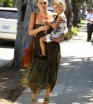 Jessica Alba and her husband Cash Warren with daughter Honor