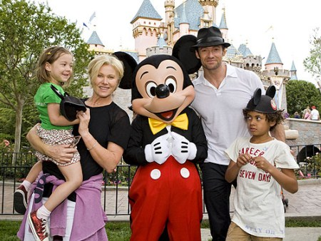 Hugh Jackman and Family
