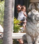 Jennifer Lopez and Marc Anthony Reunite With Their Twin For Anthony's Birthday