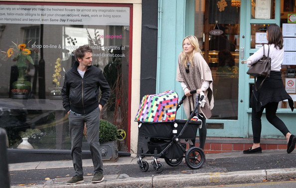 Hudson-Bellamy Have a Family Day in North London