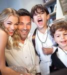 LeAnn Rimes, Eddie Cibriani and His Children