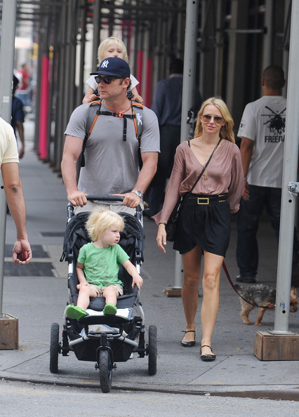 Liev Schreiber Gives His Son A New Type Of Piggyback Ride