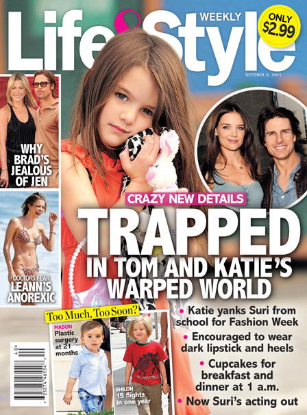 Suri Cruise - Trapped In Tom Cruise and Katie Holmes' Crazy World
