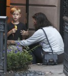 Actress Liv Tyler and son Milo are seen leaving her home in New York