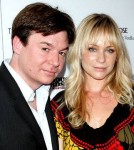 Mike Myers and Wife Kelly Tisdale