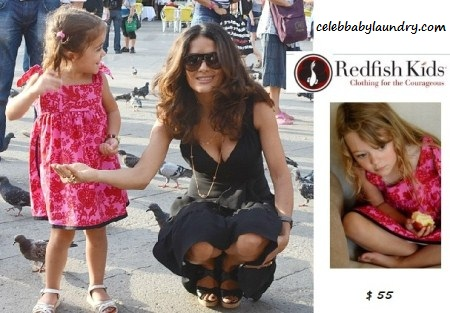 Celeb Baby Style: Butterfly Swing Dress