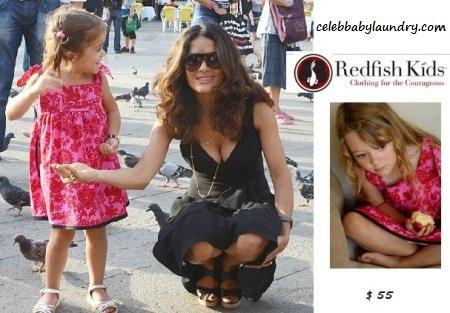 Celeb Baby Style: Butterfly Swing Dress