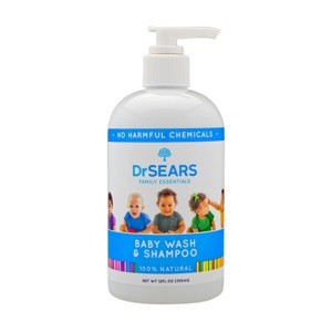 Dr Sears Family Essentials Body Wash and Shampoo