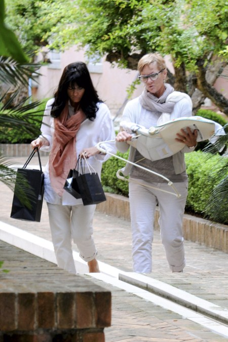 Selma Blair spends quality time with baby Arthur in Venice, Italy