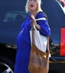 Tori Spelling Looks Like She Is Going to Pop