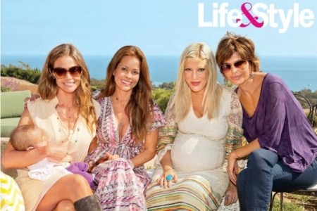 Tori Spelling's Malibu baby shower