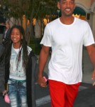 Will Smith and Willow at Barnes & Noble