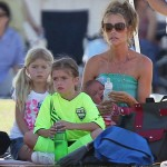 Denise Richards Turns Her Phone Off For Her Kids