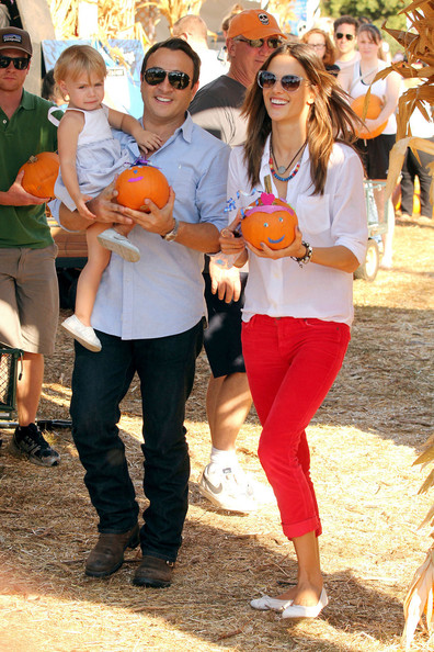 Alessandra Ambrosio And Family Spend The Day At The Pumpkin Patch