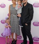 Nicole Richie and Joel Madden Take Their Kids To Disney's Princess Royal Court Celebration