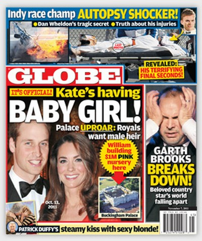 It's Official! Kate Middleton Is Having A Baby Girl